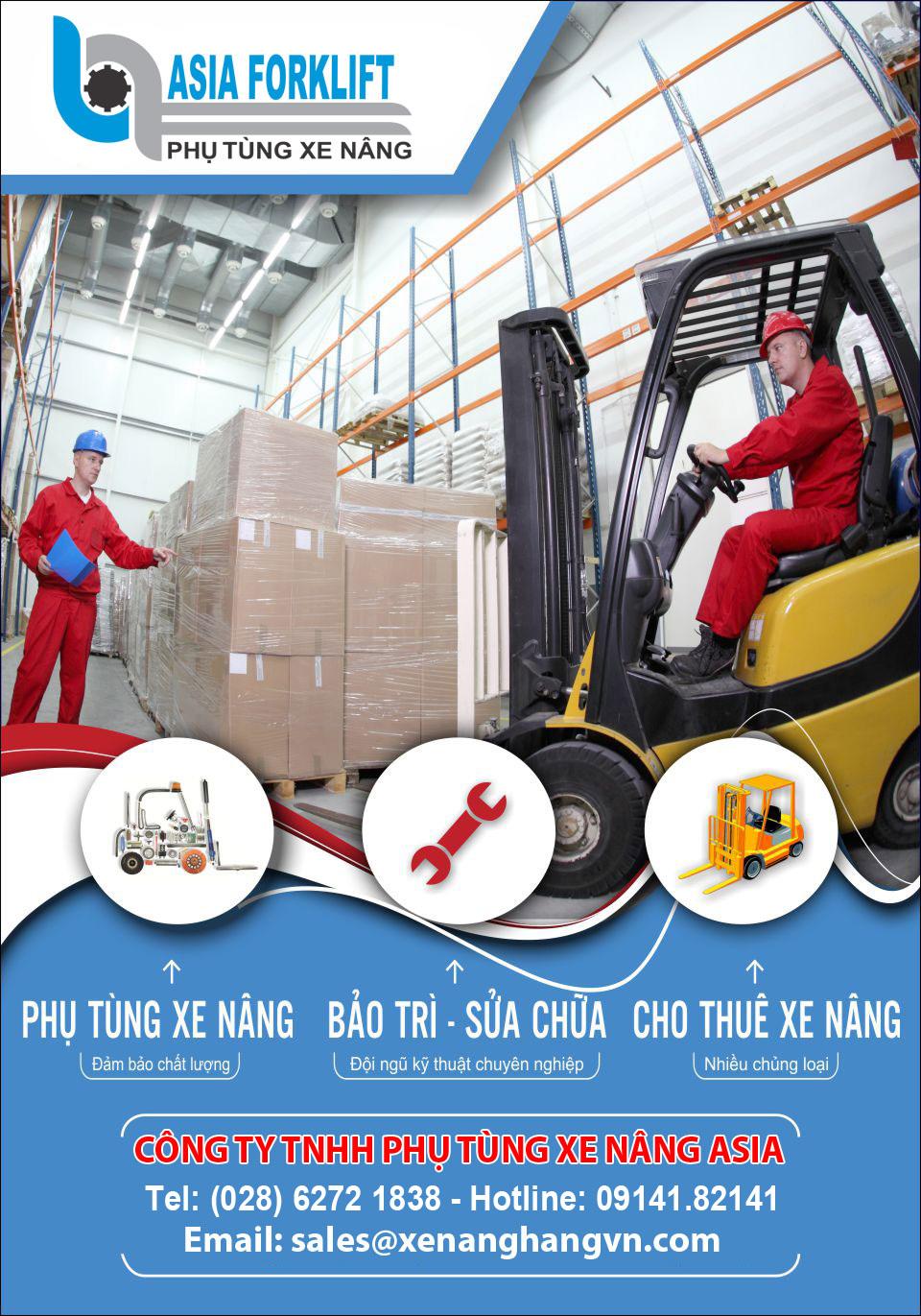 Công ty TNHH phụ tùng xe nâng Asia
