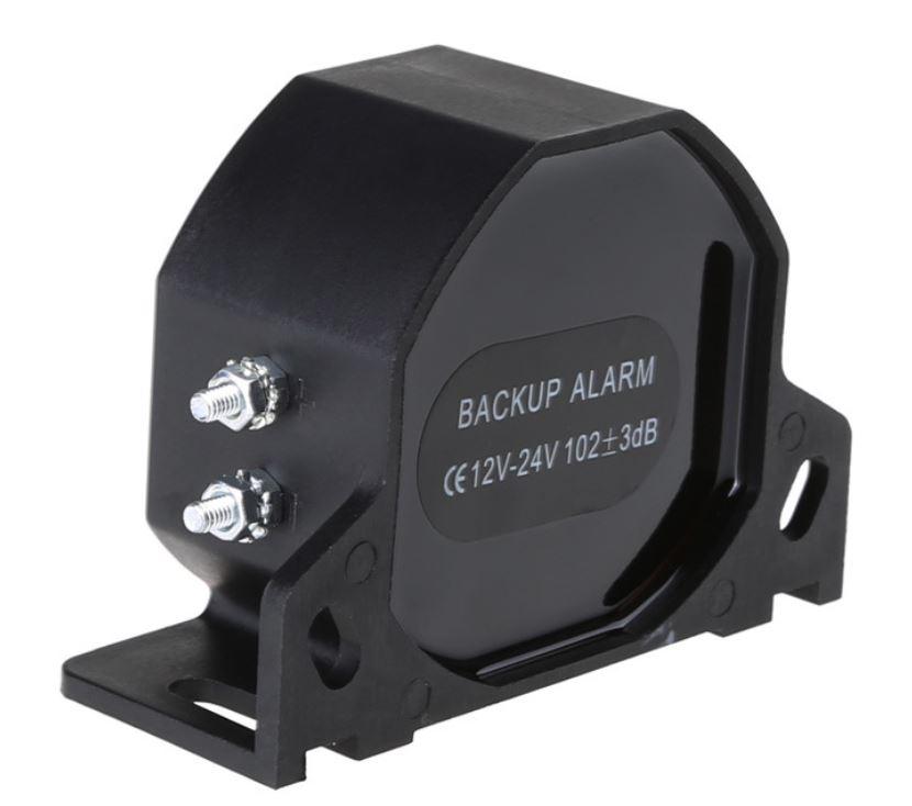 Backup alarm 12-24V