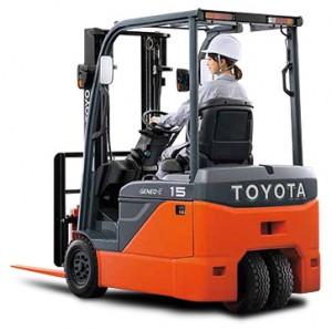xe nâng điện Toyota 8FBE 10