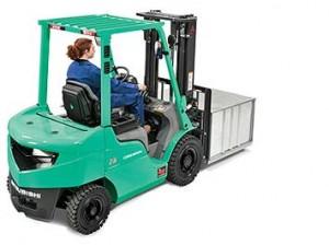 Xe nâng động cơ dầu Mitsubishi loại 2,5 tấn-1