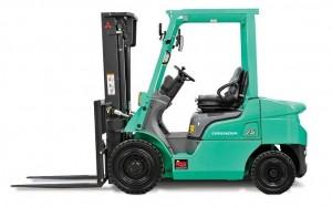Xe nâng động cơ dầu Mitsubishi loại 2,5 tấn