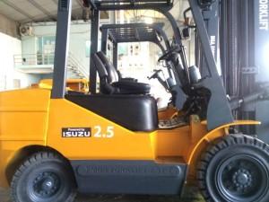 Xe nâng dầu 2.5T động cơ ISUZU Nhật Bản-1