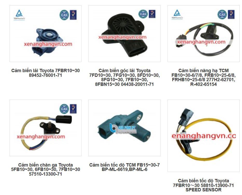 Cảm biến xe nâng điện TCM, Toyota