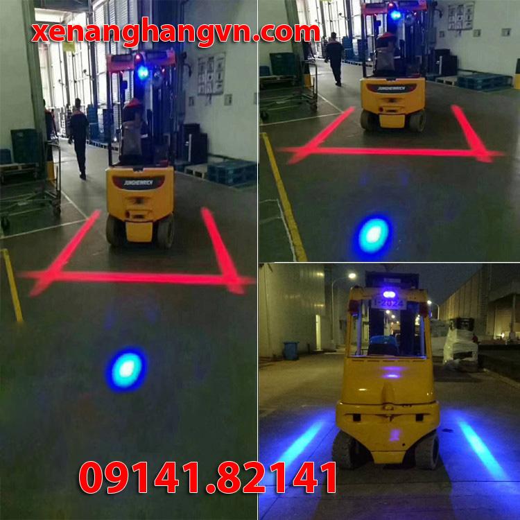 đèn cảnh báo spotlight xanh đỏ