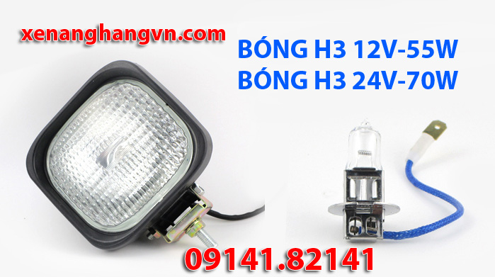 bóng đèn pha halogen h3