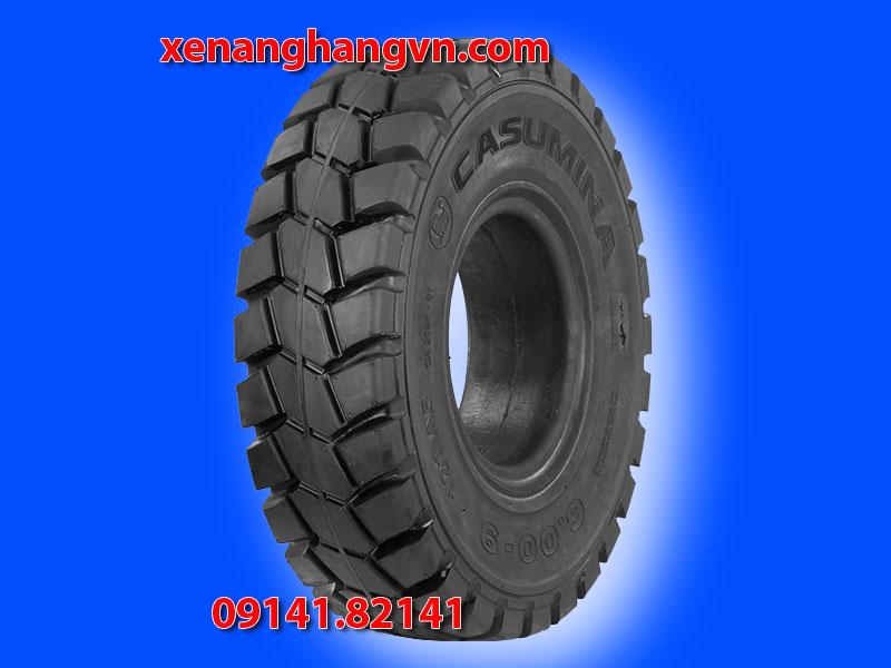 Lốp đặc 600-9, vỏ đặc xe nâng