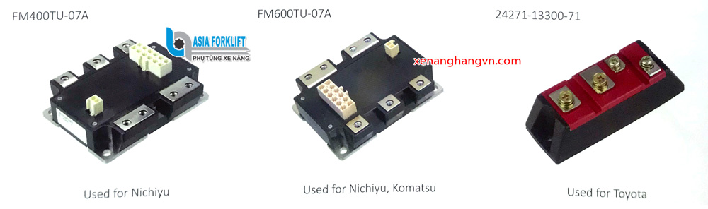 Bo công suất NICHIYU FM400TU-07A NICHIYU KOMATSU FM600TU-07A TOYOTA TSM002 24271-13300-71