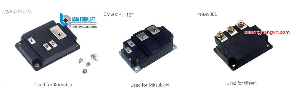 Công suất xe nâng komatsu QM600HD-M mitsubishi-CM600HU-12F Nissan PDM5001